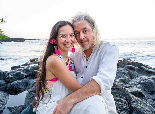 Brian and Devi